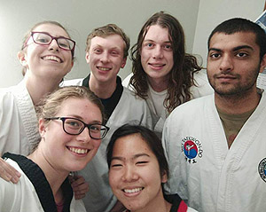 Cambridge University Taekwondo committee 2017/18